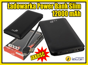power bank slim - miniaturka